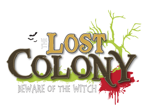 The Lost Colony haunted house logo by the Clark County ScareGrounds